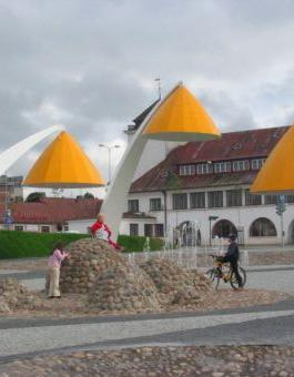 Rakvere's Central Square